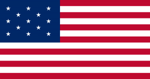 American Flag of the Resolution