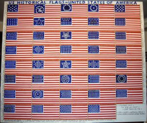 US Historical Flags