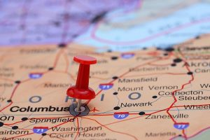 columbus-pinned-on-a-map-of-usa