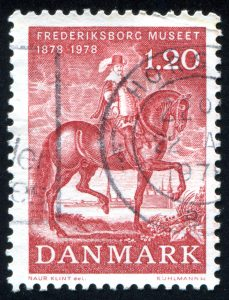 Stamp with picture of King Christian IV of Denmark