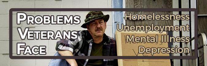 Problems veterans face