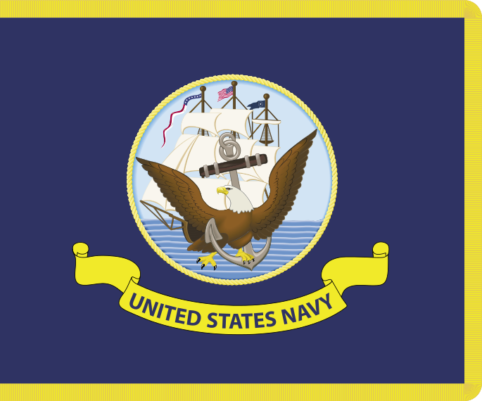 United States Navy flag