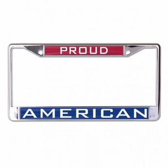 proud american license plate cover