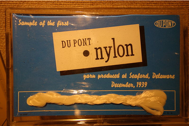 Sample of first Dupont nylon