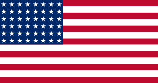 flat graphic of american flag