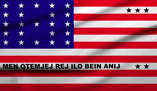 Bikini and Atoll flag