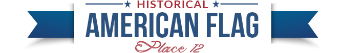 historical american flag divider 12
