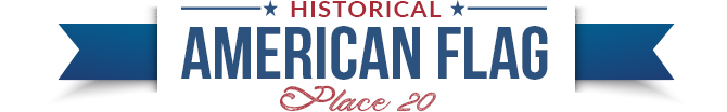 historical american flag divider 20