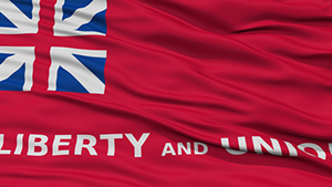 the taunton flag liberty and union