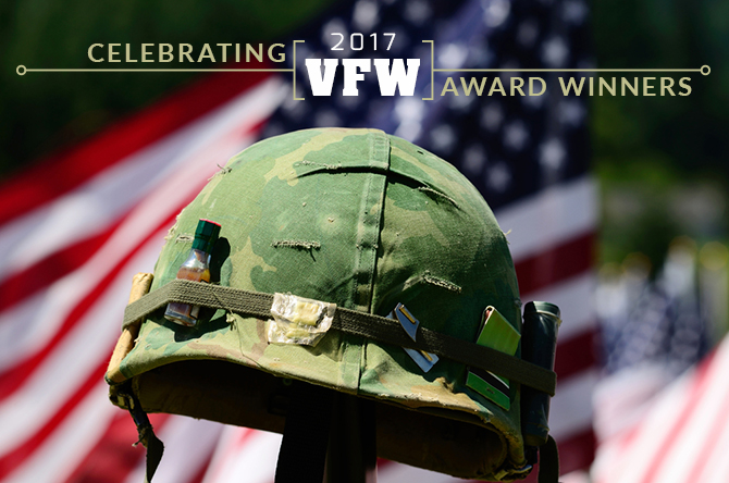 Celebrating 2017 VFW Award Winners