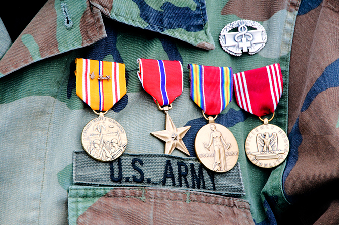 world war 2 veteran medals