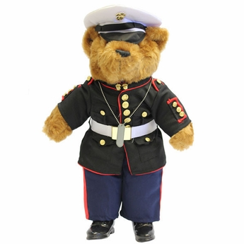 United States Marine Corp Plush Bear