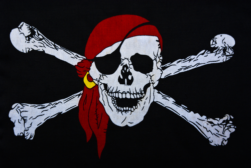 jolly roger flag graphic