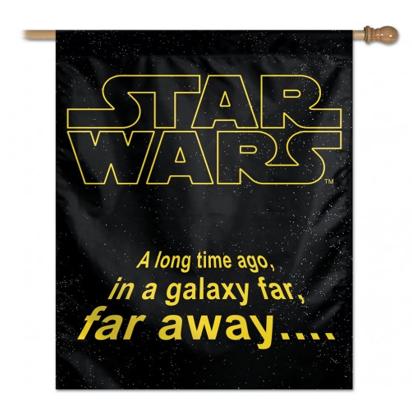star wars hanging flag