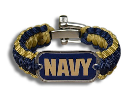 navy seal roped bracelet