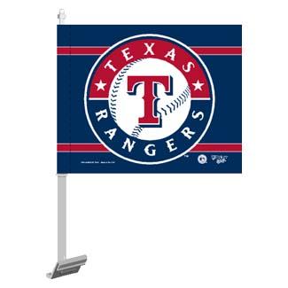 texas rangers car flag