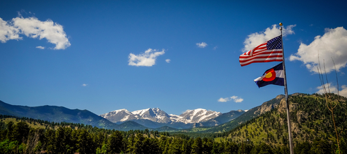 view rocky mountain national park