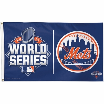 world series mets flag