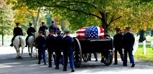 Honor Guard at Arlington National Cemetery