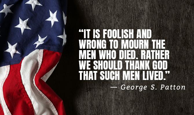 george s patton quote