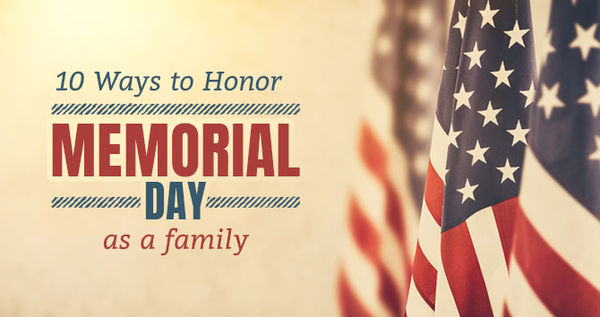 honor memorial day family