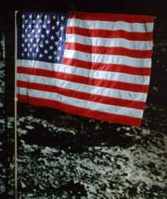 US lunar flag