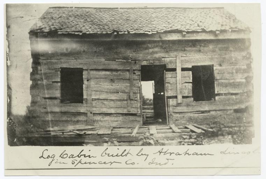 log cabin built by abraham lincoln