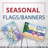 Seasonal flags